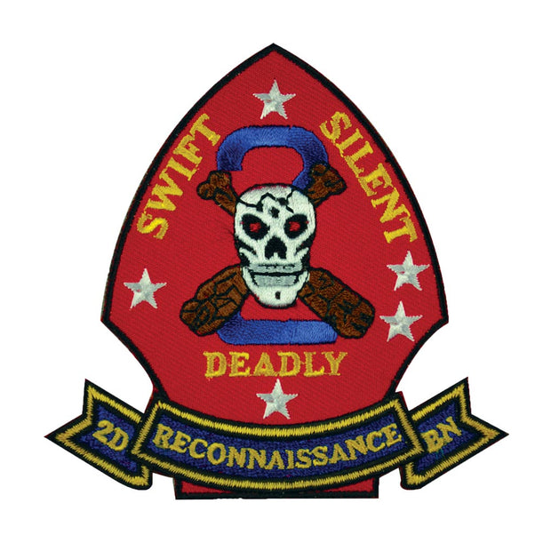 2nd Reconnaissance Battalion Patch