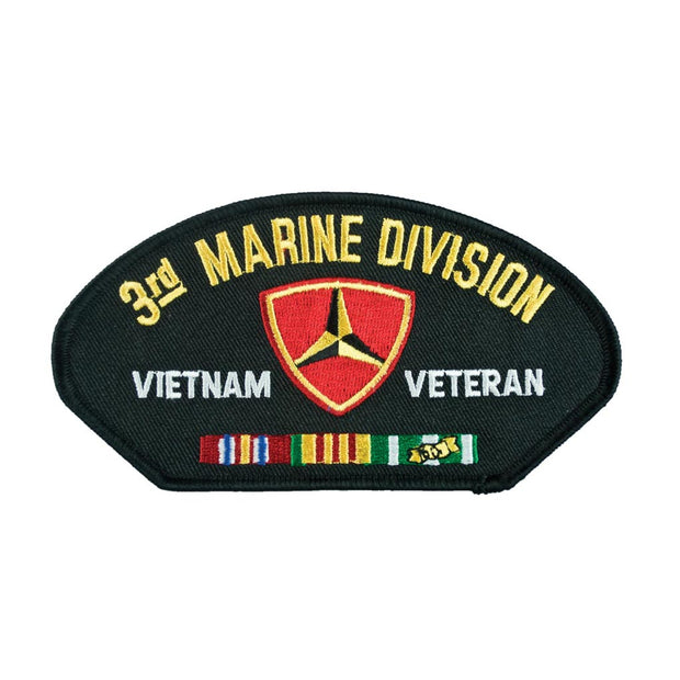 Vietnam - 3rd Marine Division Veteran Cover Patch