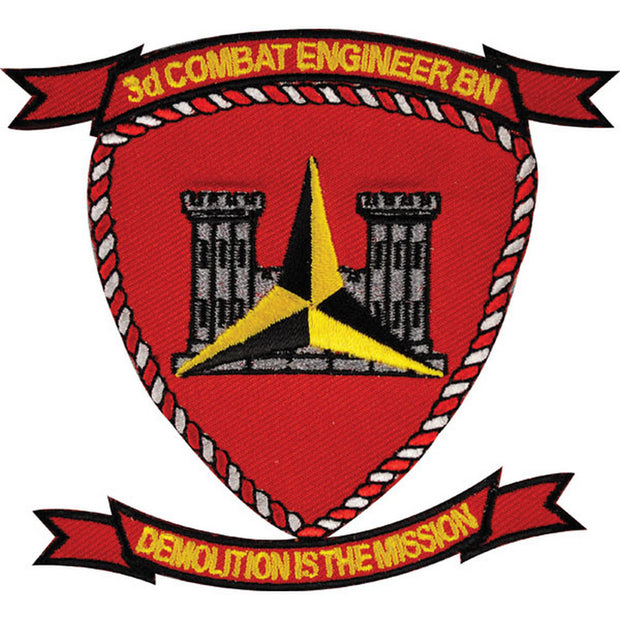 3rd Combat Engineer Battalion Patch