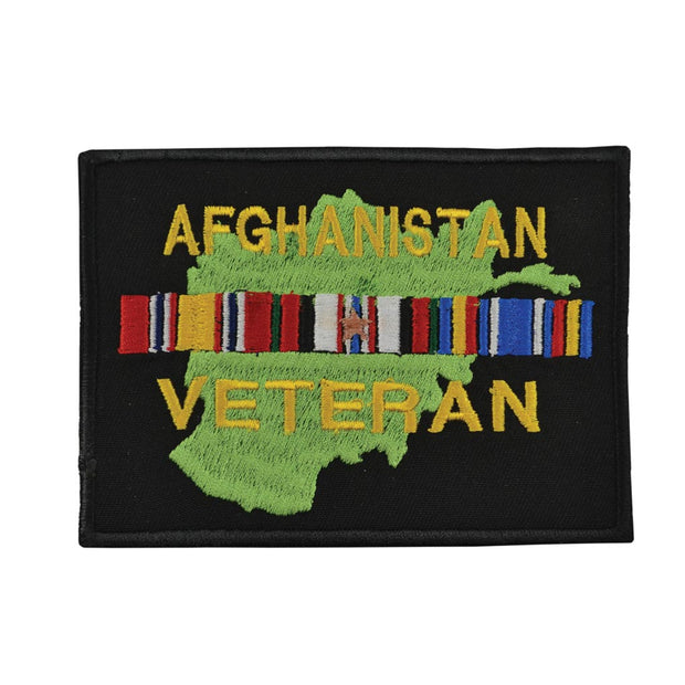 Afghanistan - Ribbons Veteran Patch