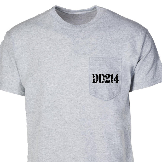 DD214 Pocket T-Shirt