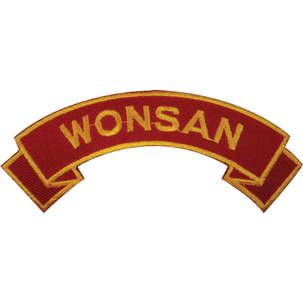 Wonsan Rocker Patch