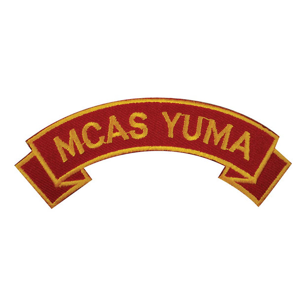 MCAS Yuma Rocker Patch