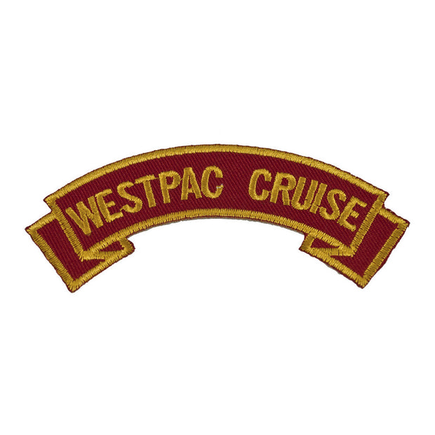 WESTPAC CRUISE Rocker Patch