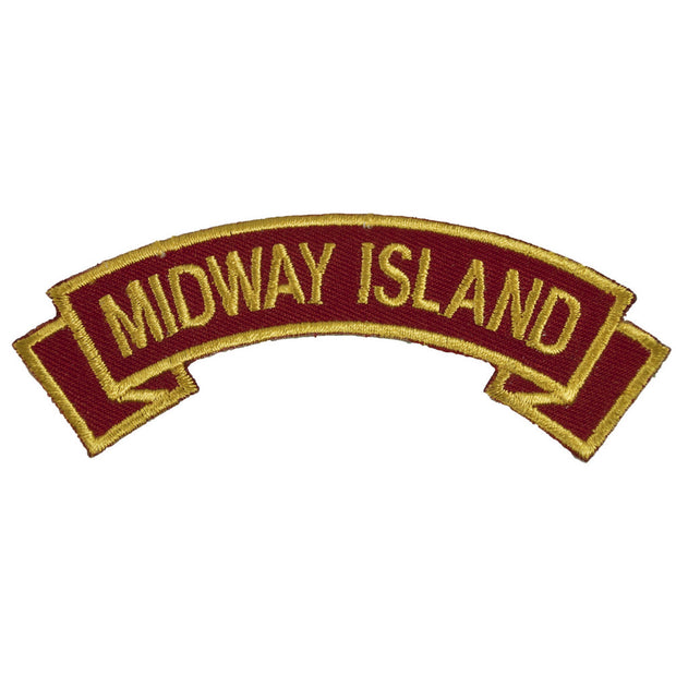 Midway Island Rocker Patch