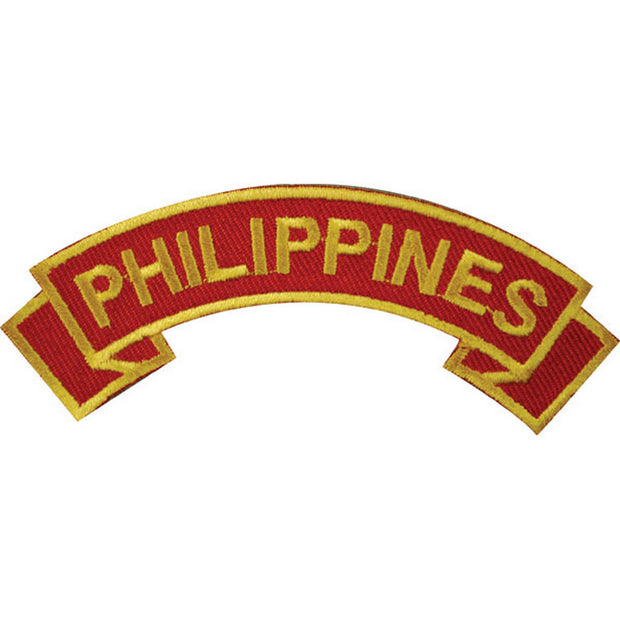 Philippines Rocker Patch