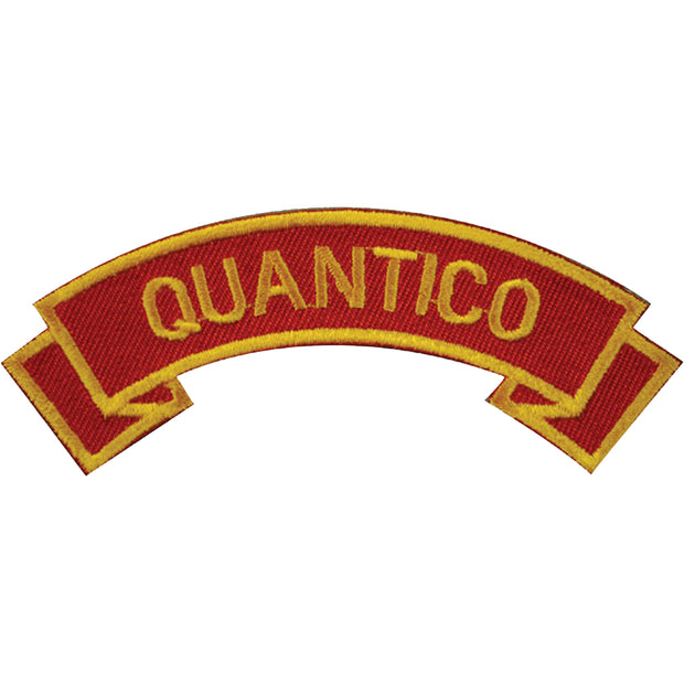 Quantico Rocker Patch