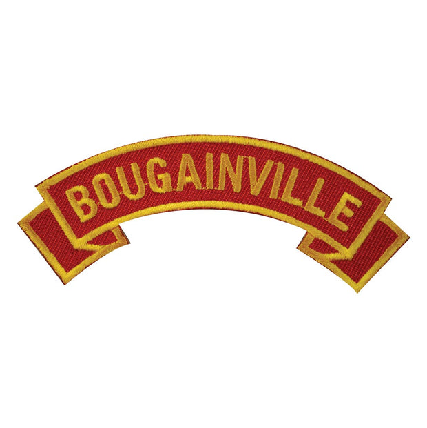 Bougainville Rocker Patch