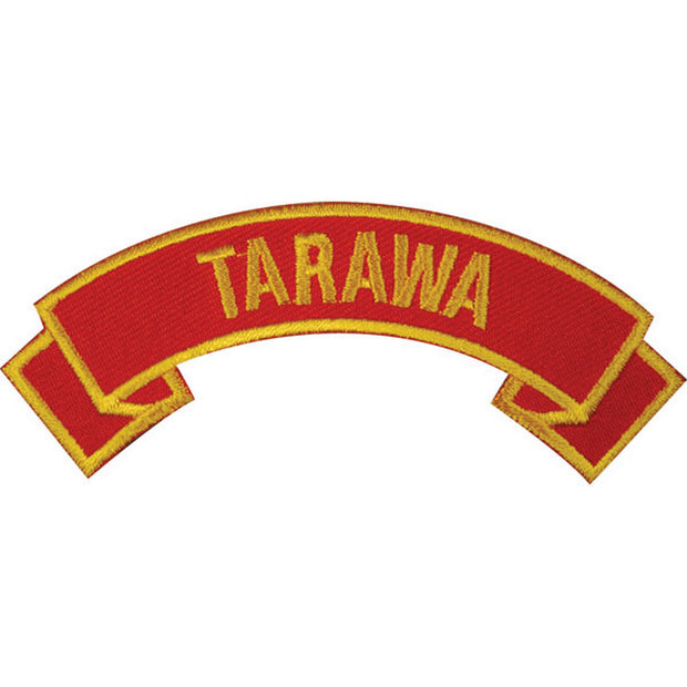 Tarawa Rocker Patch