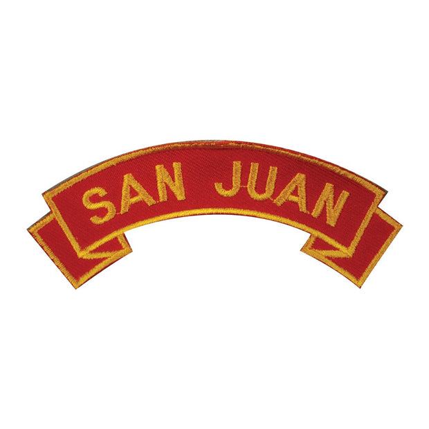 San Juan Rocker Patch