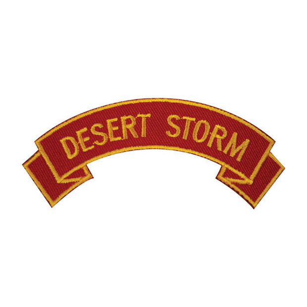 Desert Storm Rocker Patch