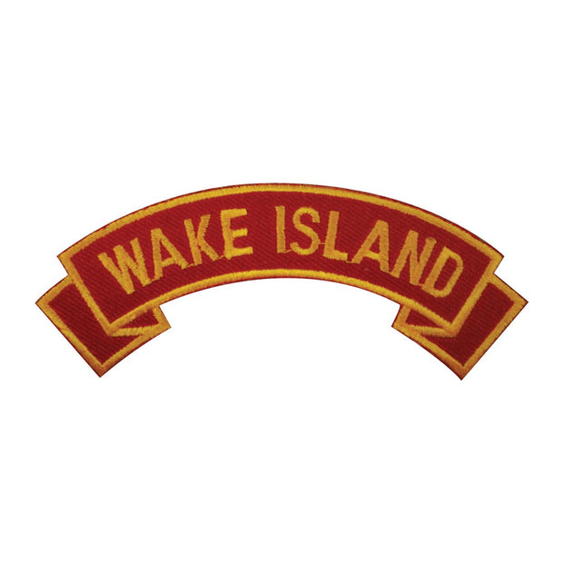Wake Island Rocker Patch