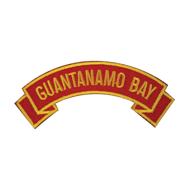 Guantanamo Bay Rocker Patch