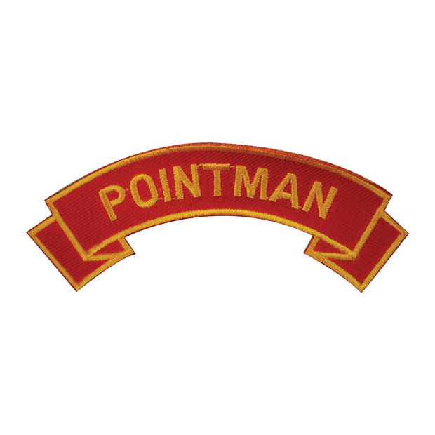 Pointman Rocker Patch