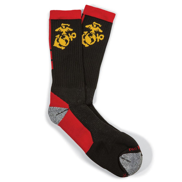 Exclusive Eagle, Globe and Anchor Crew Socks