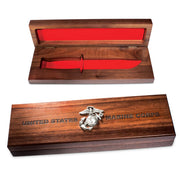 U.S. Marine Corps KA-BAR Display Case