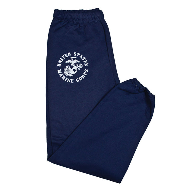 Mens USMC Eagle Globe and Anchor Sweatpants