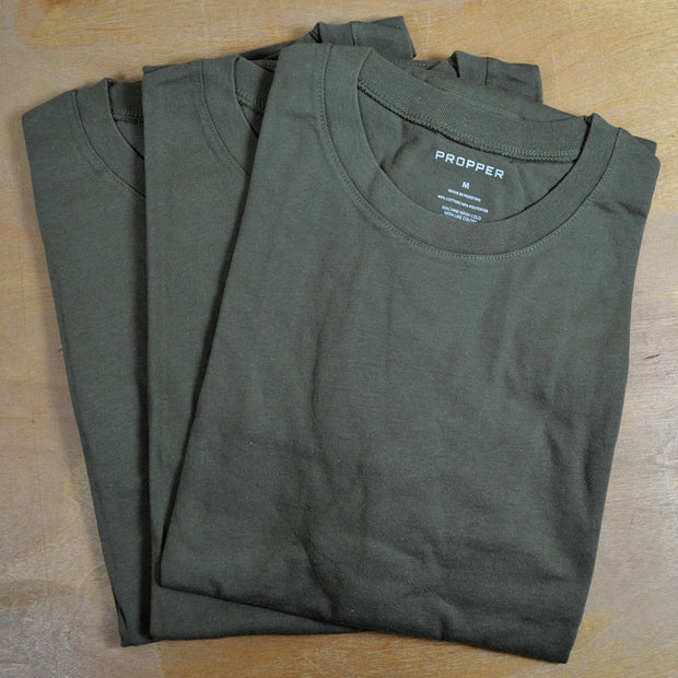 Pack Of 3 OD Green T-Shirts