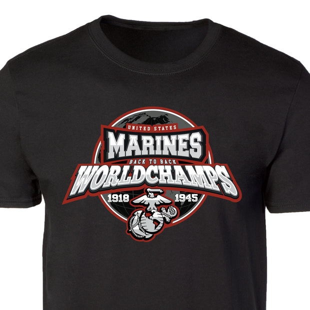 US Marines Back to Back World Champs T-shirt