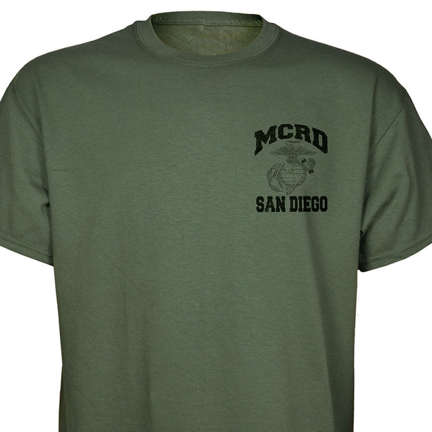 MCRD Location/Year State T-Shirt