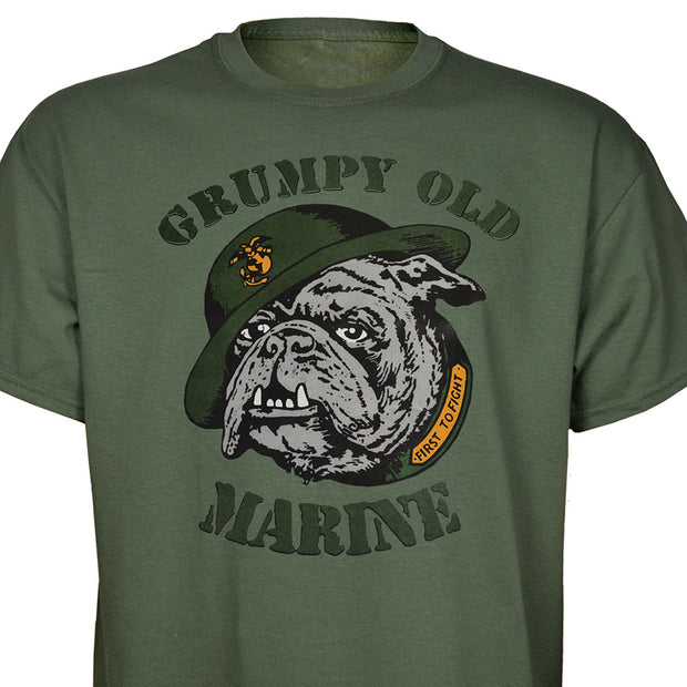 Grumpy Old Marine T-shirt