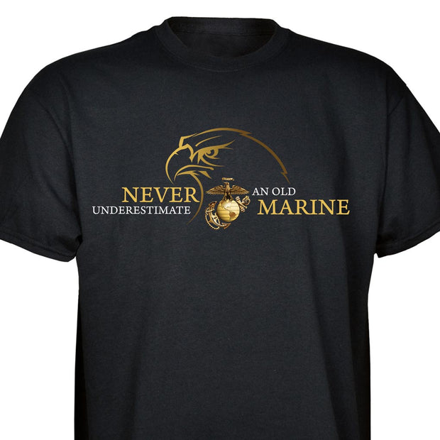 Never Underestimate T-shirt