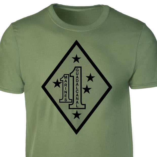 Guadalcanal - 1st Marines Regimental T-shirt