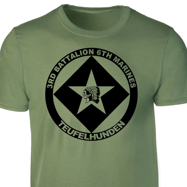 3rd Battalion 6th Marines T-shirt