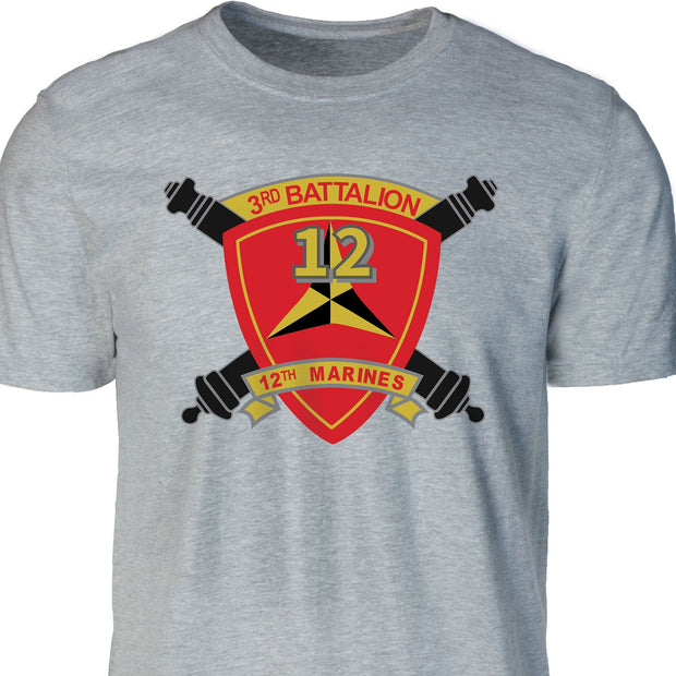 3rd Battalion 12th Marines T-shirt