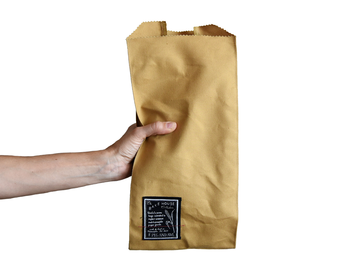 Bake House Bread Bag by Peg and Awl