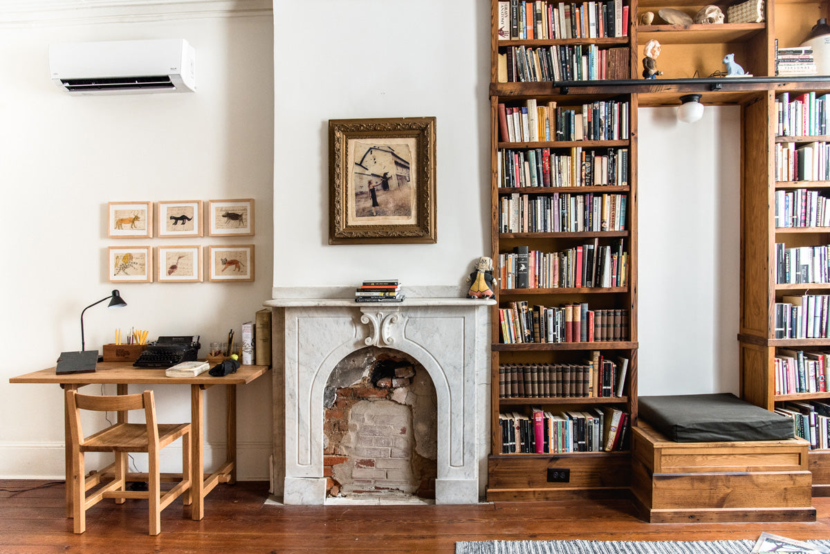 The Peg and Awl House Library