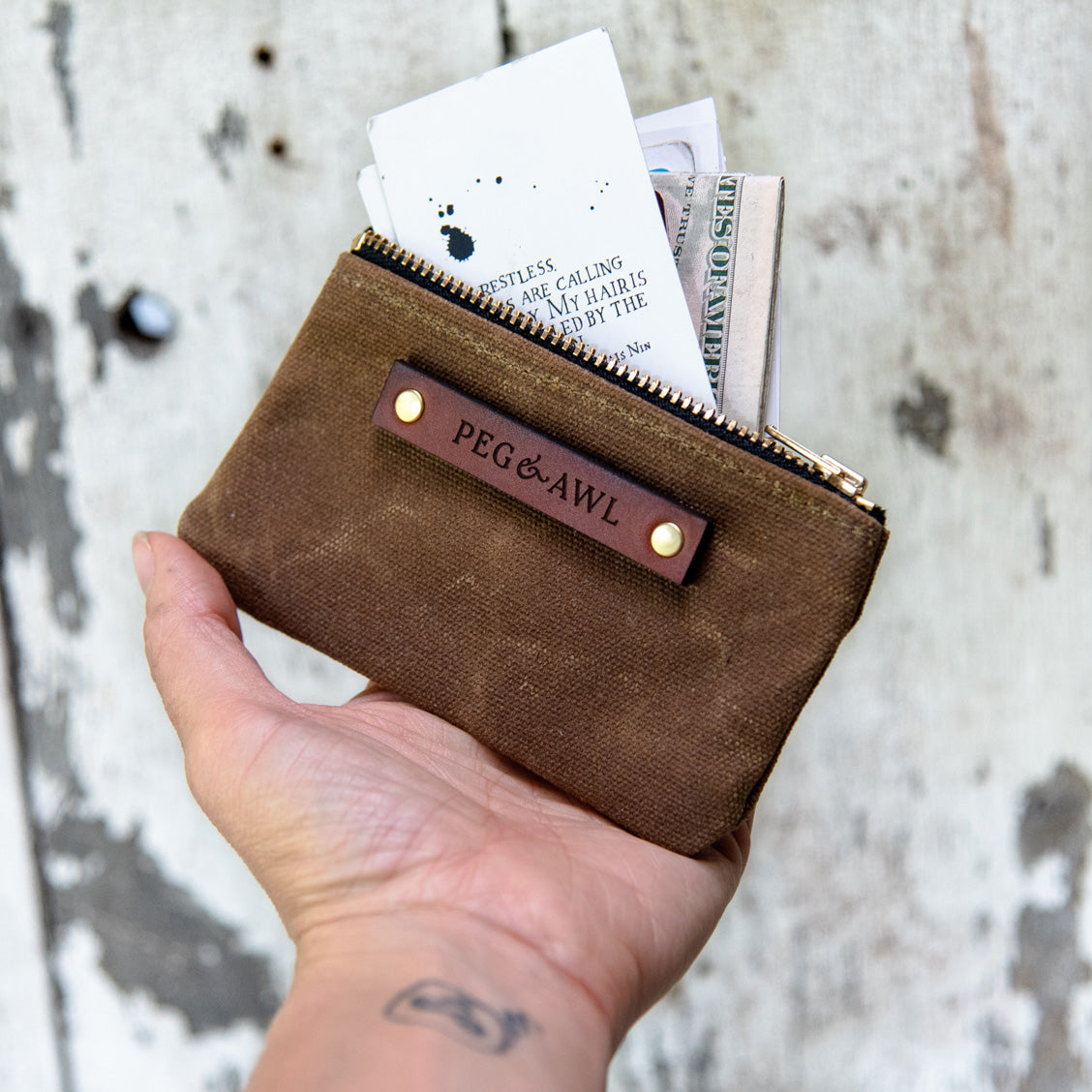 The Spender Pouch by Peg and Awl