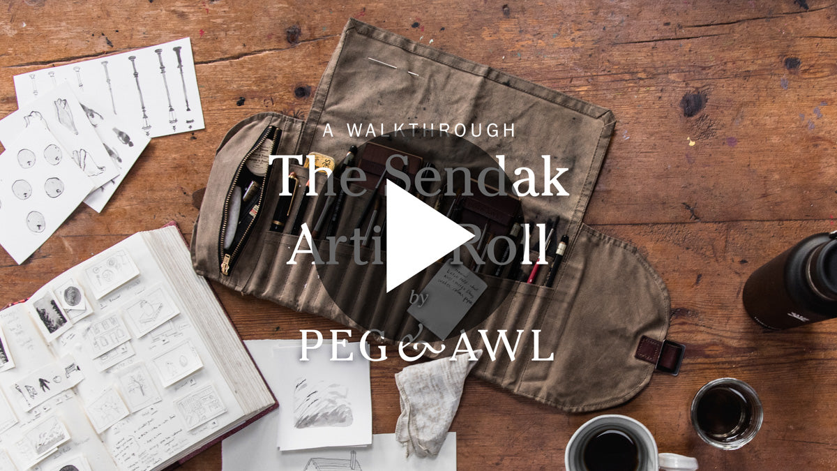 The Sendak Artist Roll Video | Peg and Awl