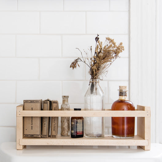Apothecary Caddy by Peg and Awl