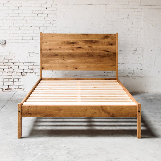 The Eden Bed Frame by Peg and Awl