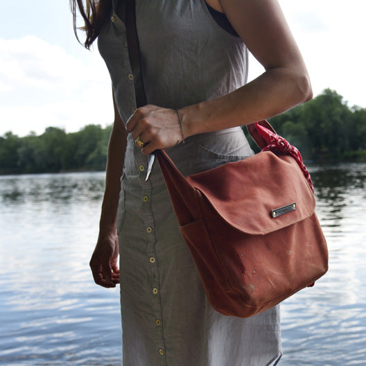 The Finch Satchel by Peg and Awl