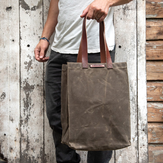 The Marlowe Carryall by Peg and Awl
