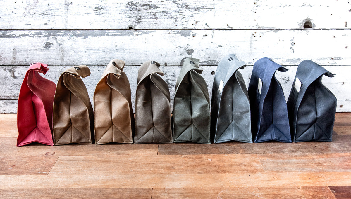 The Marlowe Lunch Bag by Peg and Awl