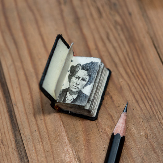 Mini Artist Sketchbook by Peg and Awl