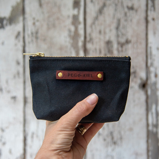 The Saver Pouch by Peg and Awl