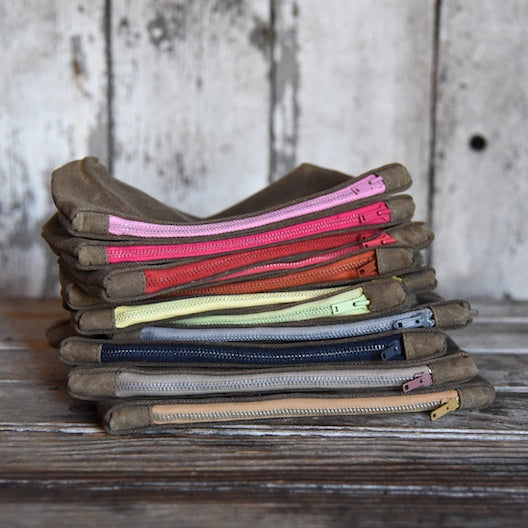 Bloom Pouches by Peg and Awl