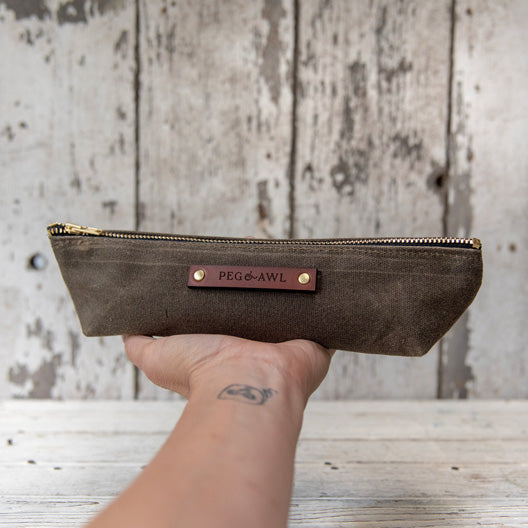 The Drafter Pouch by Peg and Awl