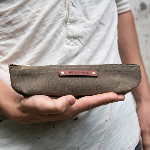 Drafter Pouch by Peg and Awl