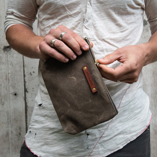 Keeper Pouch by Peg and Awl