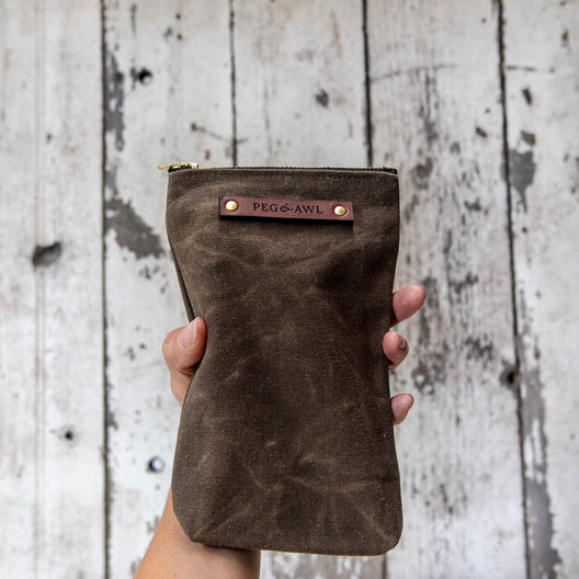 The Scribbler Pouch by Peg and Awl