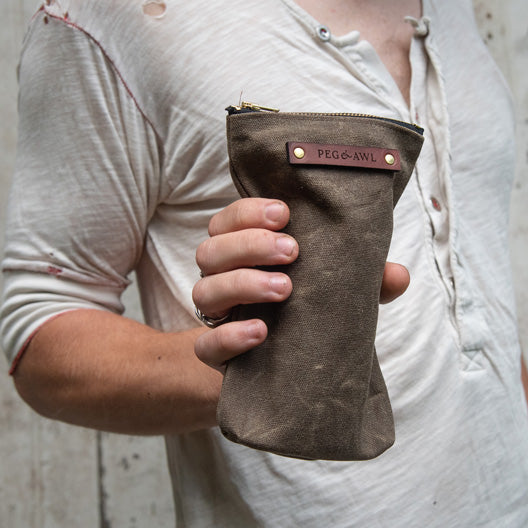 Scribbler Pouch by Peg and Awl