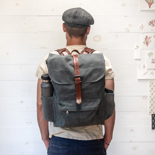 The Rogue Backpack by Peg and Awl
