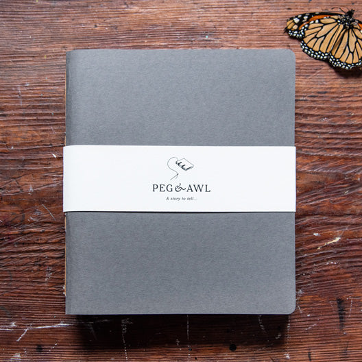 Large Portrait Orra Sketchbook by Peg and Awl