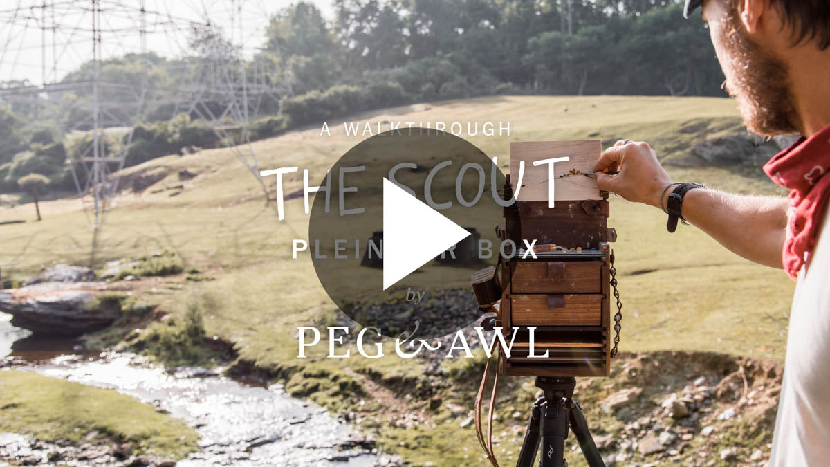 The Scout Plein Air Box Video Walkthrough Thumbnail | Peg and Awl