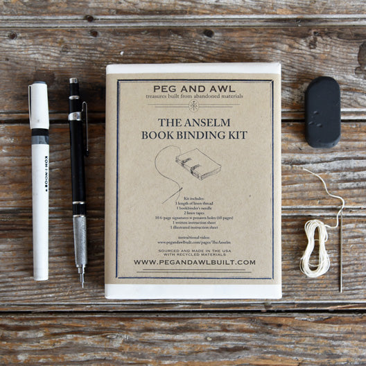 Anselm Bookbinding Kit by Peg and Awl